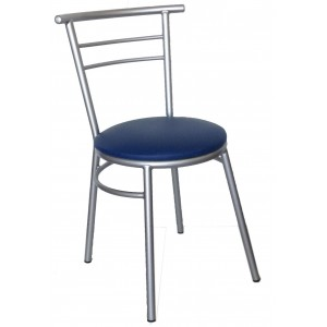 "Ryan Side Chair Steel Frame ""Royal Blue"""