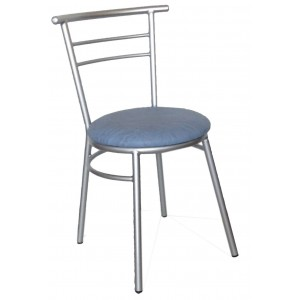 "Ryan Side Chair Steel Frame ""Light Blue"""
