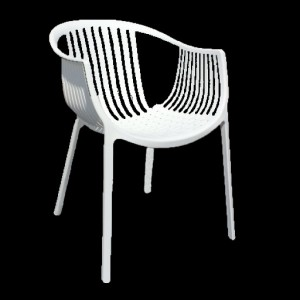 Arm Chair - Java - White