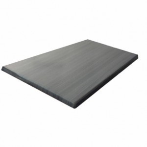 800X1200mm, Heatproof Table Top, Retangular, Onyx Grey