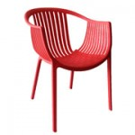Arm Chair - Java - Red