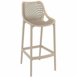 .Air Barstool - Taupe