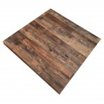 700mm, Melamine, Square, Brazil Cherry