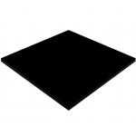 800mm, Gentas Heatproof Table Top, Square, Black