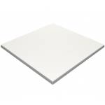 800mm, Gentas Heatproof Table Top, Square, White