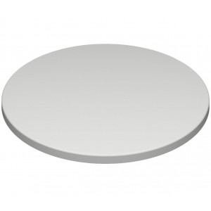 700mm, Gentas Heatproof Table Top, Round, White