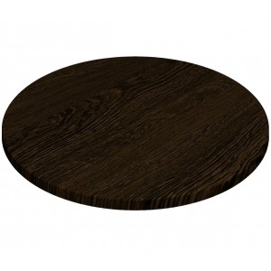 700mm, Gentas Heatproof Table Top, Round, Wenge
