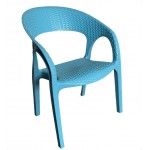 Kids Bali Arm Chair-Blue