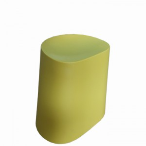 Flow Stackable Low Stool, Yellow