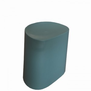 Flow Stackable Low Stool, Green