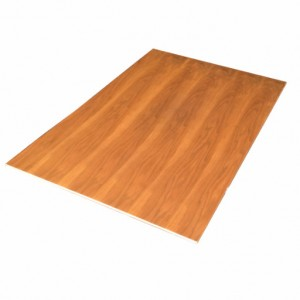 800x1200mm, Timber Veneer Table with Laminate Top, Rebate Edge, Rectangular, Walnut