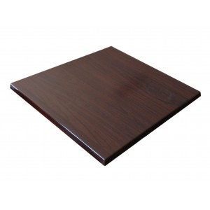 800mm, Heatproof Table Top, Square, Walnut