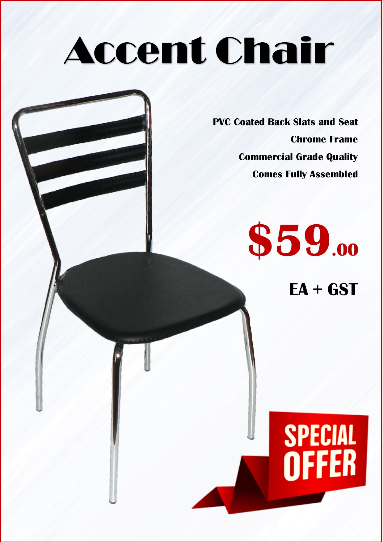 Accent Chair Special December