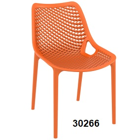 Air Side Chair orange