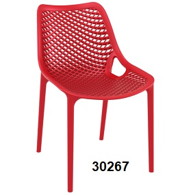 Air Side Chair red