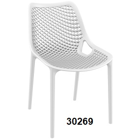 Air Side Chair white