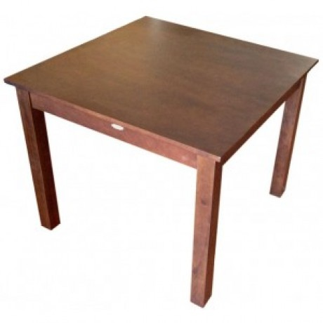 Jaron Rubberwood Table 900mm Square - Wenge Copy