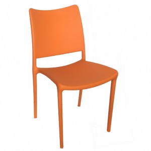 PagoPago Stackable Side Chair Orange