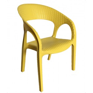 Kids Bali Arm Chair-Yellow