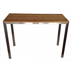 Club Teak Slat Outdoor Dry Bar 1500mm