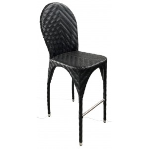 Clasique Bar Stool Rattan Effect 75cm