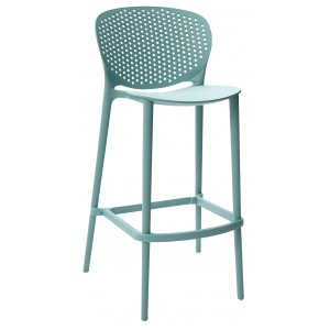 Pongo Polypropylene Bar Stool 750mm Seat Height