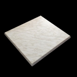 700mm, Heatproof Table Top, Square, Marble Light