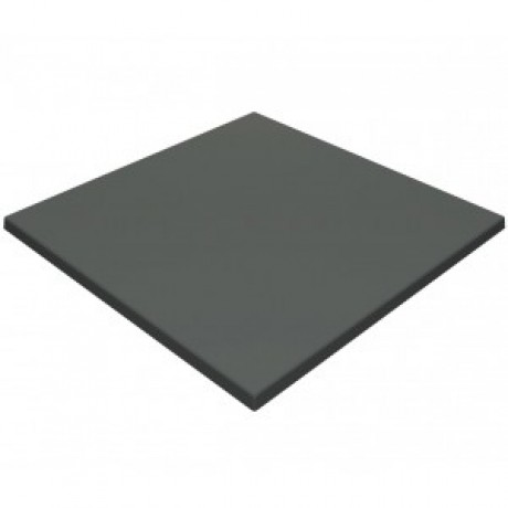 600mm, Gentas Heatproof Table Top, Square, Anthracite