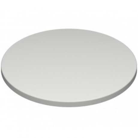600mm, Gentas Heatproof Table Top, Round, White