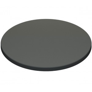 800mm, Gentas Heatproof Table Top, Round, Anthracite