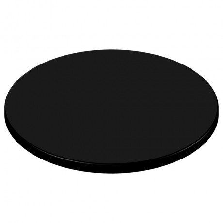 600mm Round SM France Duratop - Black