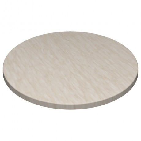 600mm Round SM France Duratop - Marble