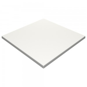 SM France Duratop 600mm Square - White