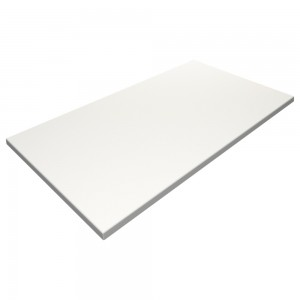 SM France Duratop 1200 x 800mm Rectangular - White