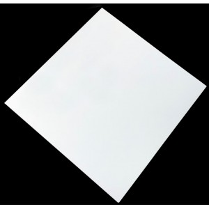 800mm, Compact Laminate, Square, White