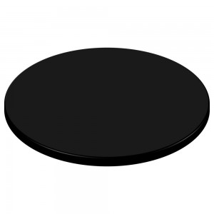SM France Duratop 700mm Round - Black