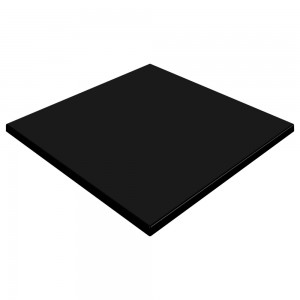 SM France Duratop 800mm Square - Black
