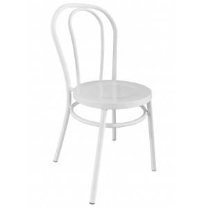 Thonet Bentwood Aluminium Chair - White