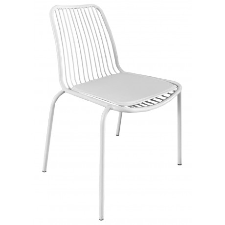 Wire Chair - White